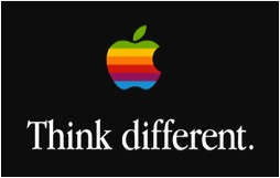 Apple logo-Think Different