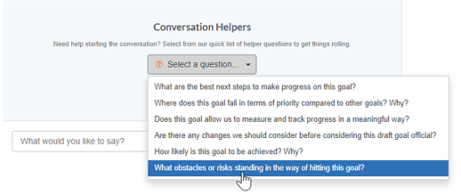 empower managers to have thoughtful goal conversations