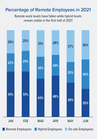 Percentage of Remote Employees