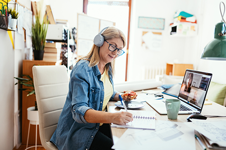 connected remote work culture
