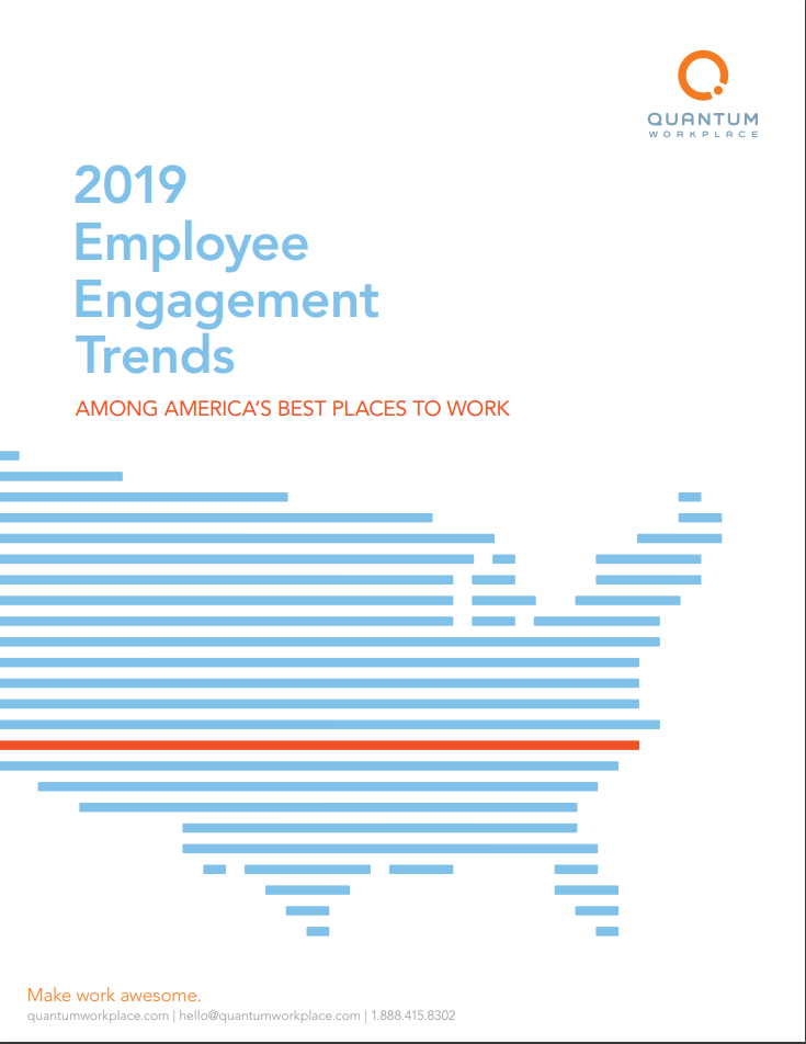 2019 Employee Engagement Trends Report
