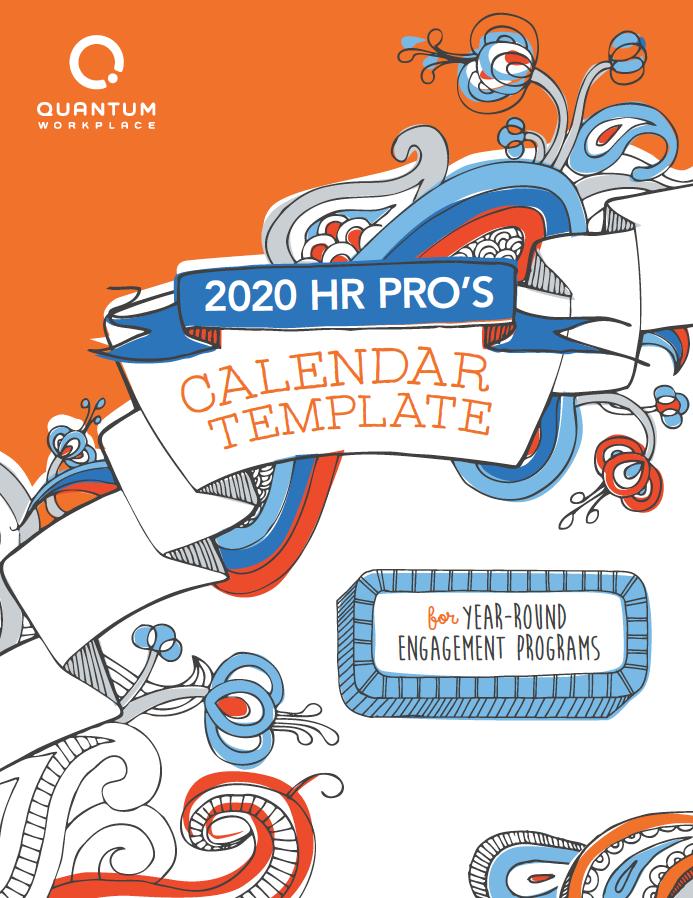 2020 HR Calendar Template
