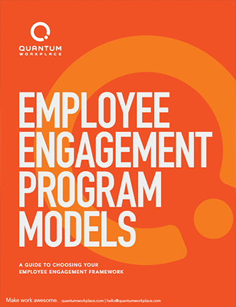 Employee Engagement Program Models Quantum Workplace
