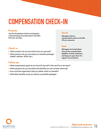 compensation check-in