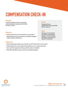 compensation check-in