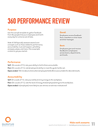 360 performance review