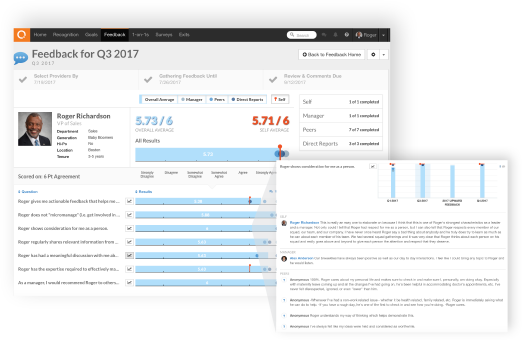 Performance Feedback-Build culture screenshot