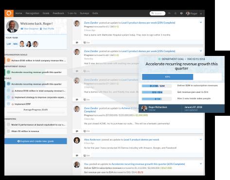 Employee Goals-Flip the culture screenshot