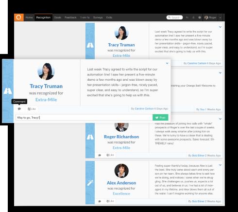 Employee Recognition-Put the power screenshot