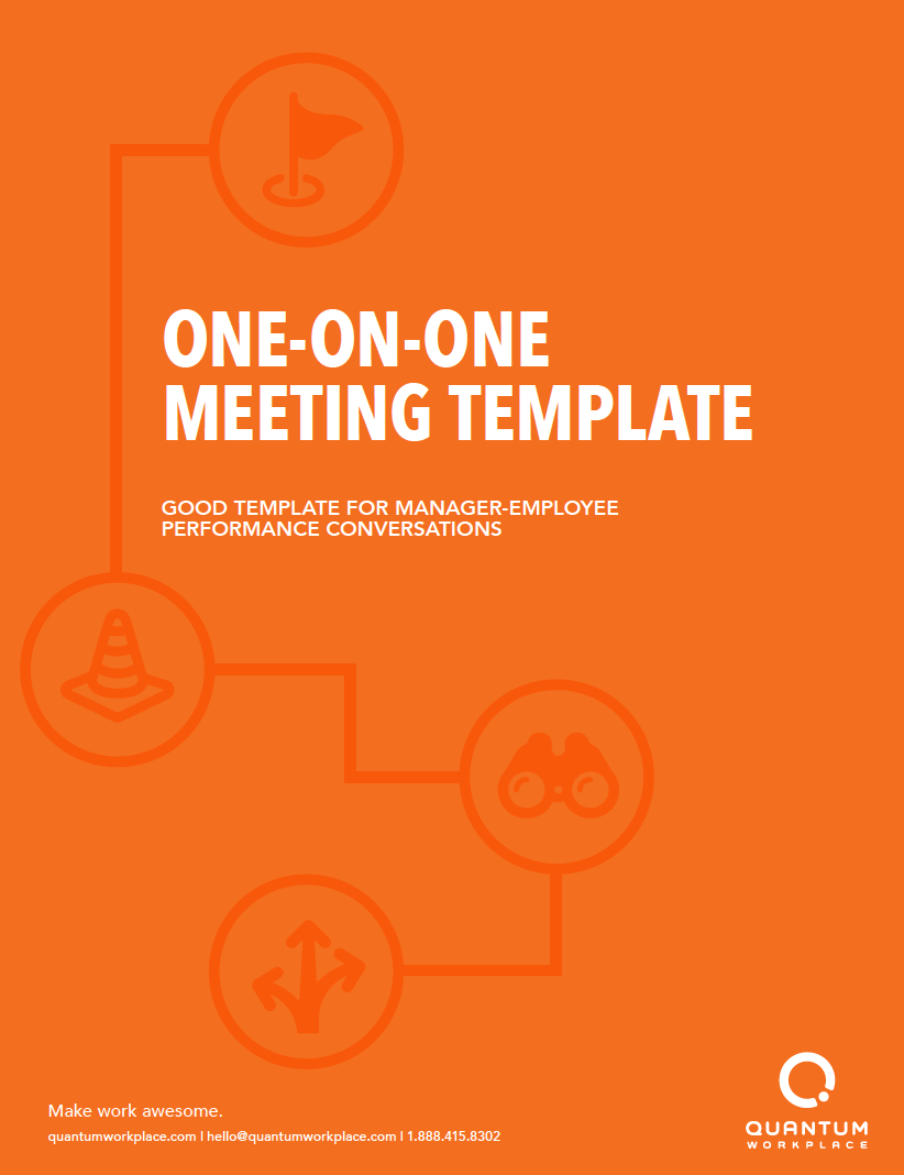 Template for One-on-One Meetings