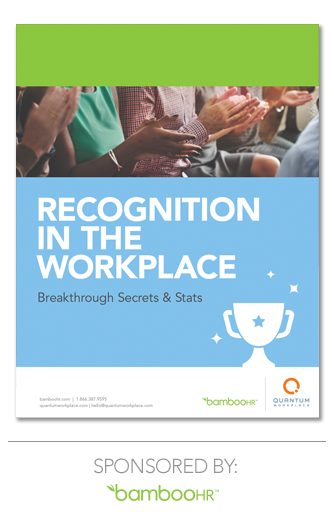 Recognition in the Workplace - Ebook