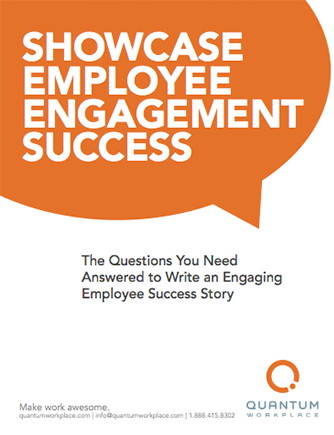 how to showcase successful employee survey results