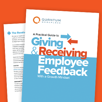 A Practical Guide to Giving and Receiving Employee Feedback