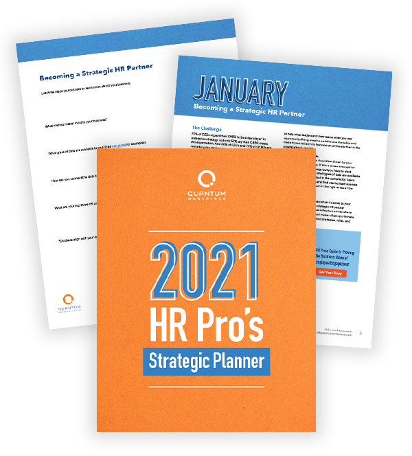 2021 HR Strategic Planner
