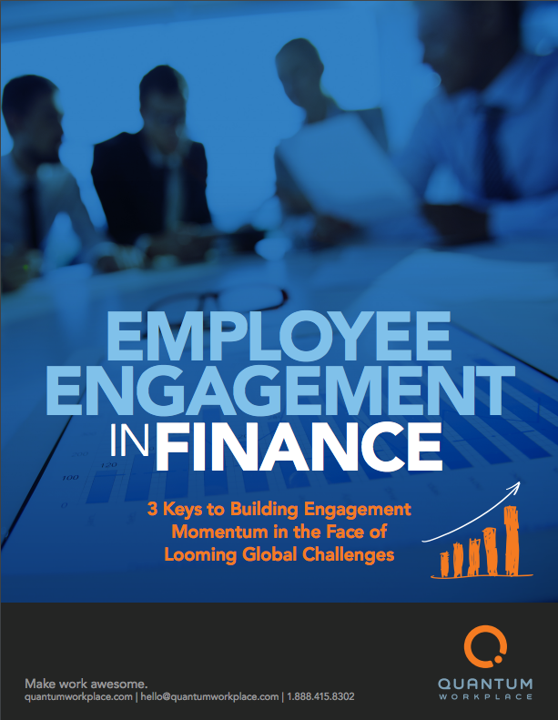 Employee Engagement in Finance