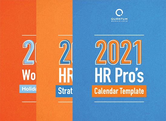 2021 HR Pro's Calendar Template and Strategic Planner