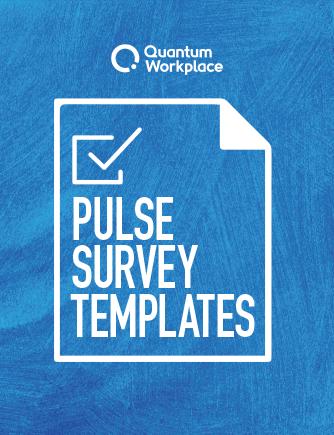 Pulse Survey Templates ebook