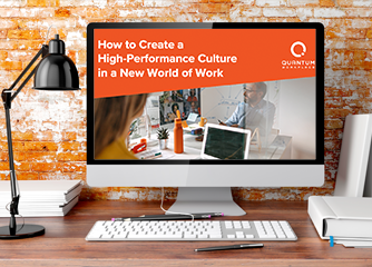 how to create a high-performance culture