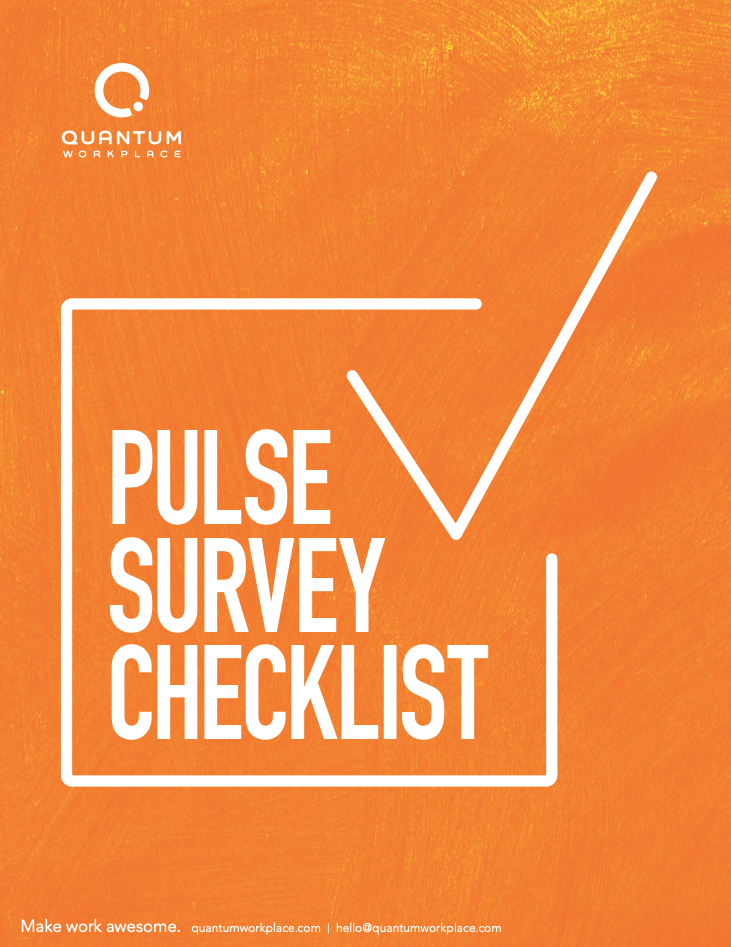 Pulse Survey Checklist