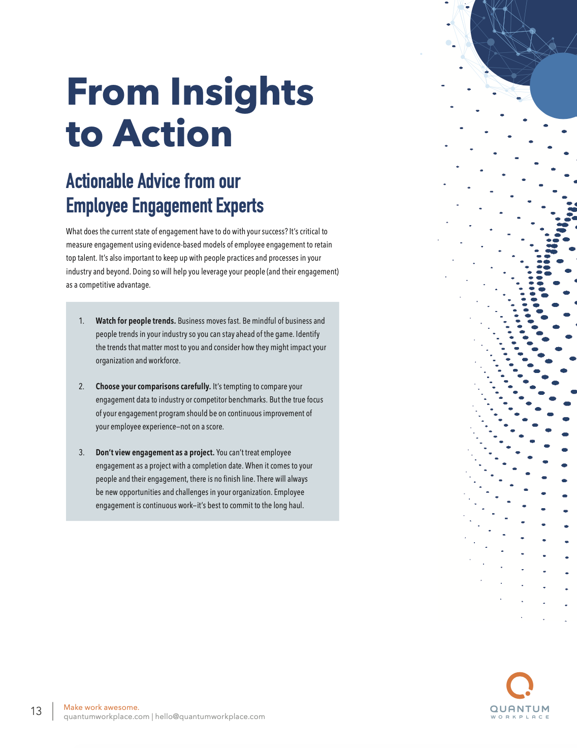 trends report action steps