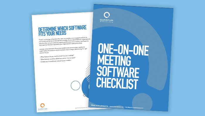One-on-One Meeting Software Checklist