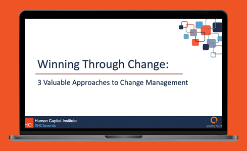 Winning Through Change: 3 Valuable Approaches to Change Management